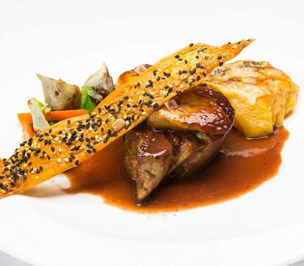 solomillo ternera y foie restaurant es canyis puerto soller